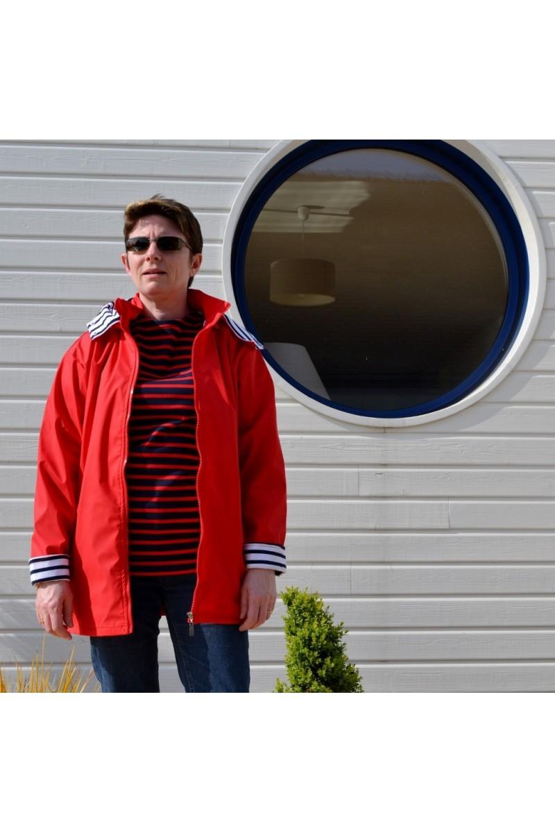 Ciré femme écume rouge