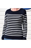 Pull Mariniére Femme